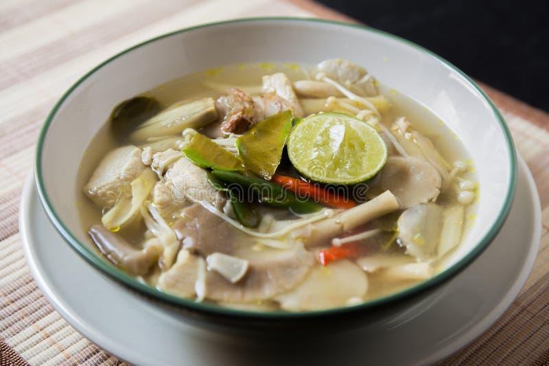 Tom Yum Thai Food arkivbilder