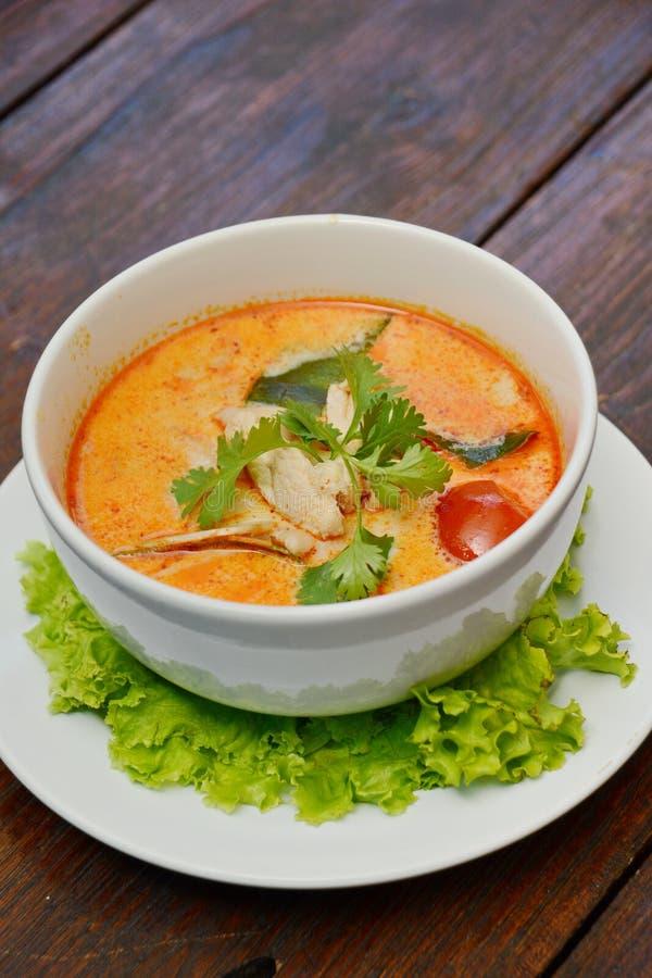 Tom Zupnego †Yum 'Tajlandzki jedzenie obraz royalty free