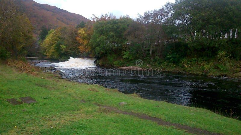 Toma de corriente hidráulica de Kinlochleven, Escocia imagen de archivo libre de regalías