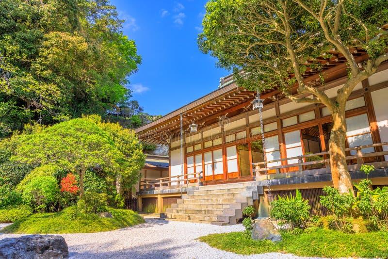 Toma-dera Kamakura de Hokoku-ji fotografía de archivo libre de regalías