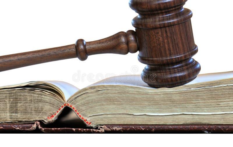 Tomada de decisão legal fotografia de stock