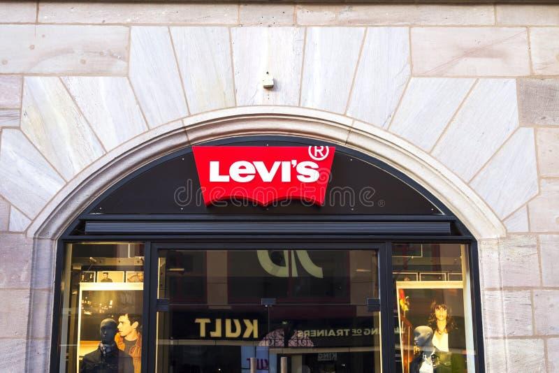 Tomada do ` s de Levi fotografia de stock royalty free