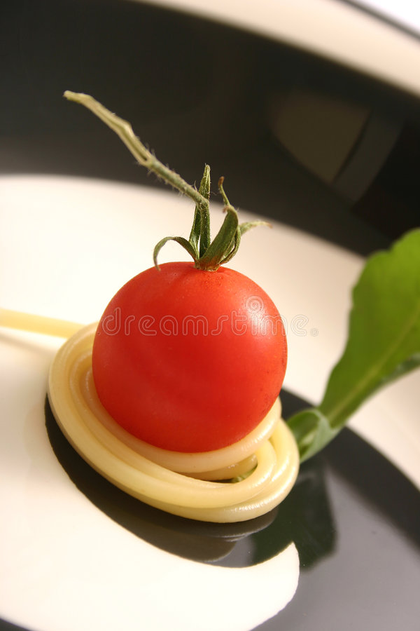 Download Tomado And Spaghetti Detail Royalty Free Stock Photos - Image: 199418