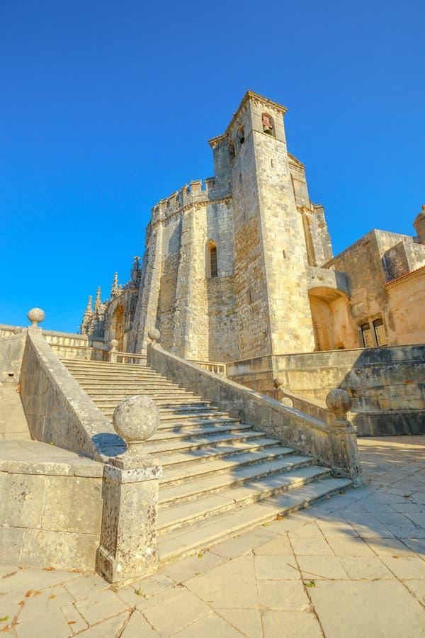 Toman Templar kyrka royaltyfria bilder
