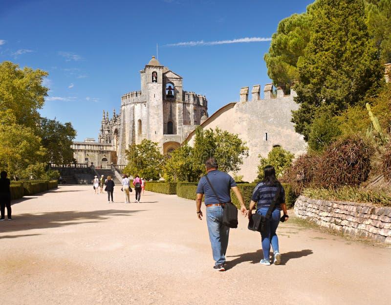 Tomar Castle, Portugal imagenes de archivo