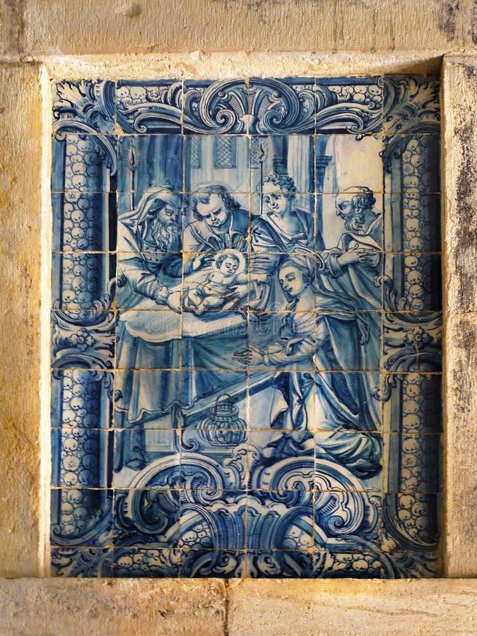 Tomar Castle Portugal arkivfoto