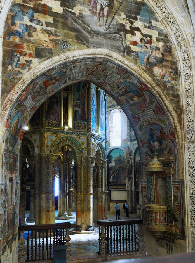 Tomar Castle, Portugal fotografía de archivo libre de regalías