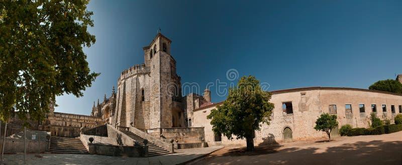 tomar christ kloster arkivbilder