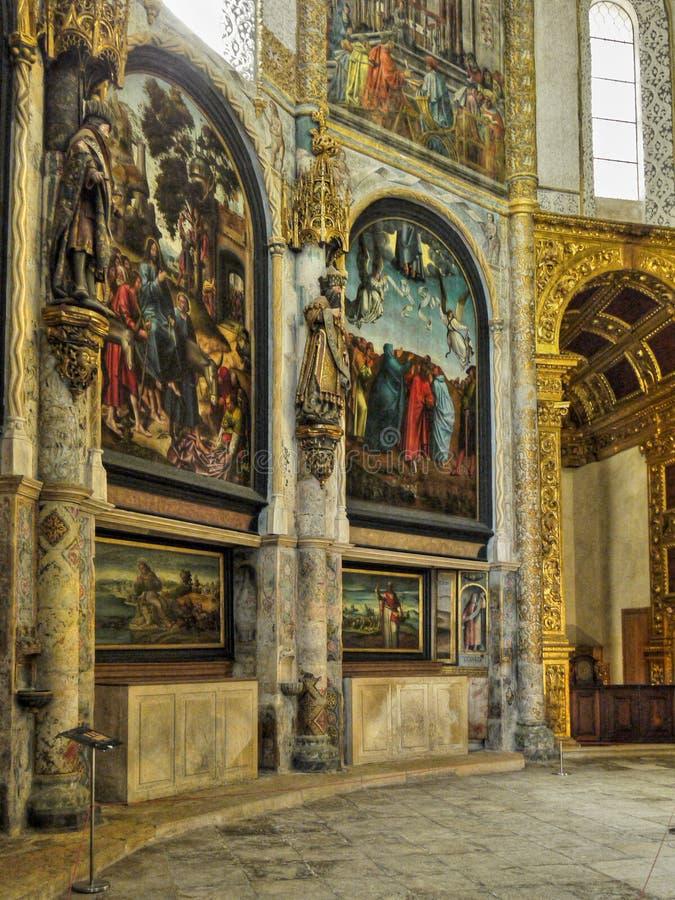 Tomar Church, Portugal foto de archivo libre de regalías