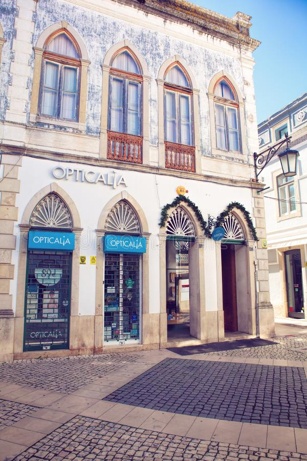 Tomar city center, Santarem District in Portugal royalty free stock photos