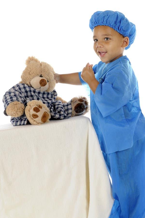 Tomar el cuidado del oso foto de archivo libre de regalías