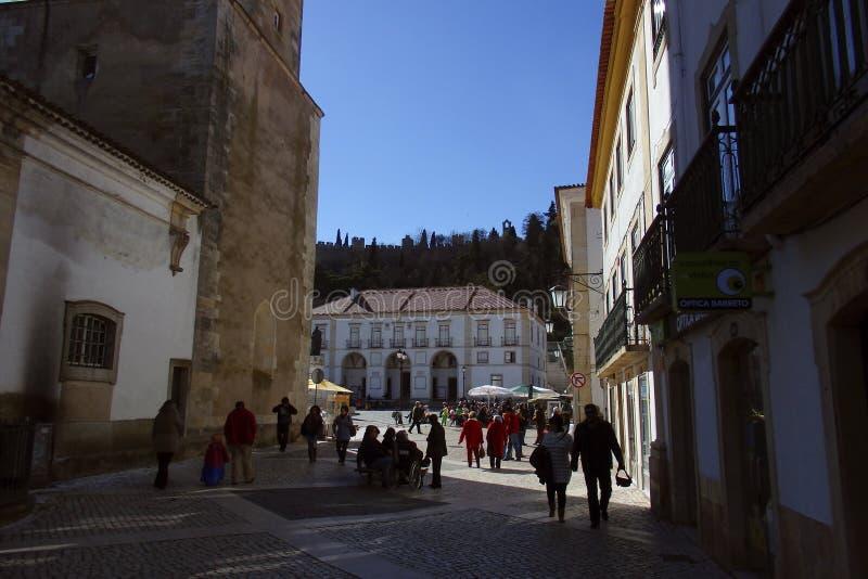 Tomar Portugal royaltyfria bilder