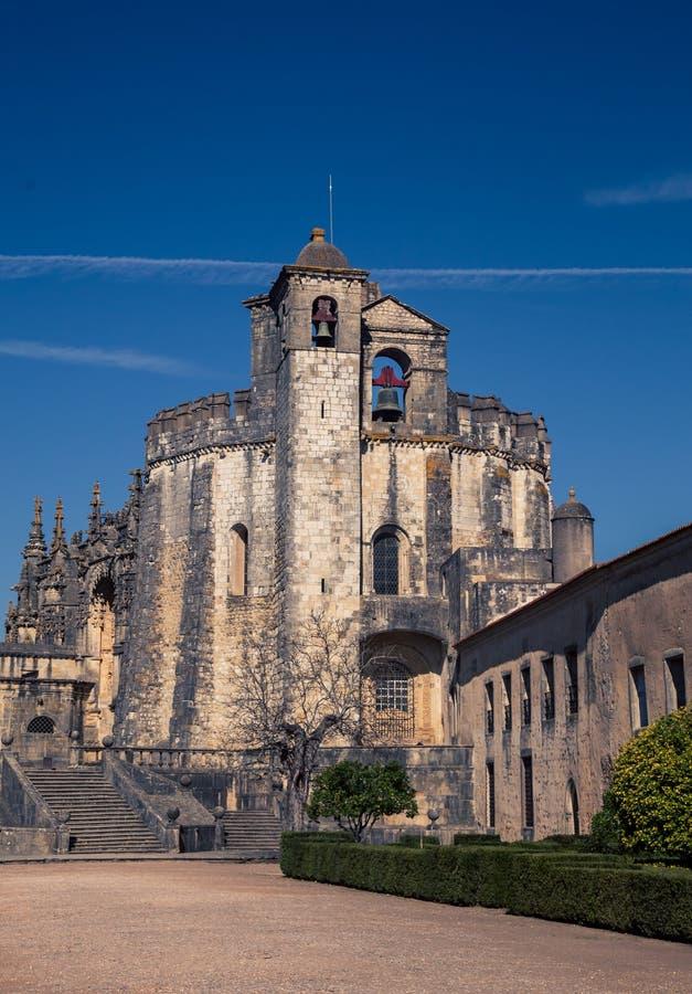 Tomar Portugal Castle fotografia stock libera da diritti