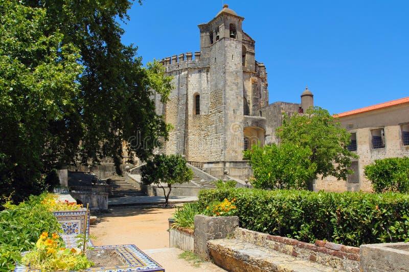 Tomar Templar adlar fästningen fotografering för bildbyråer