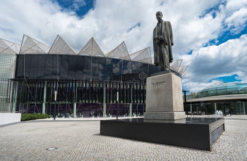 Tomas Bata University em Zlin (TBU) foto de stock