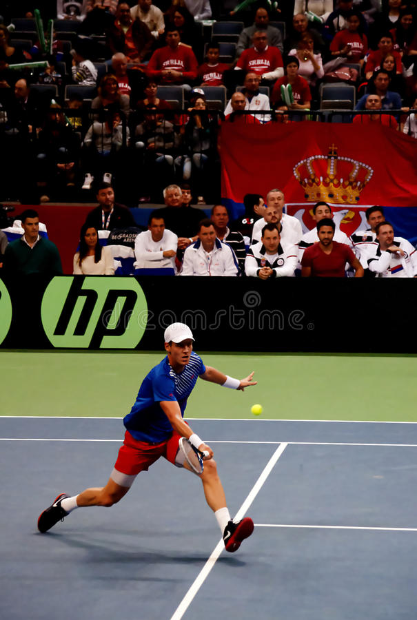 Tomas Berdych-1 royalty free stock images