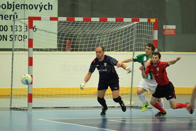 Tomas Meller - ERA Pack Chrudim futsal royalty free stock photo