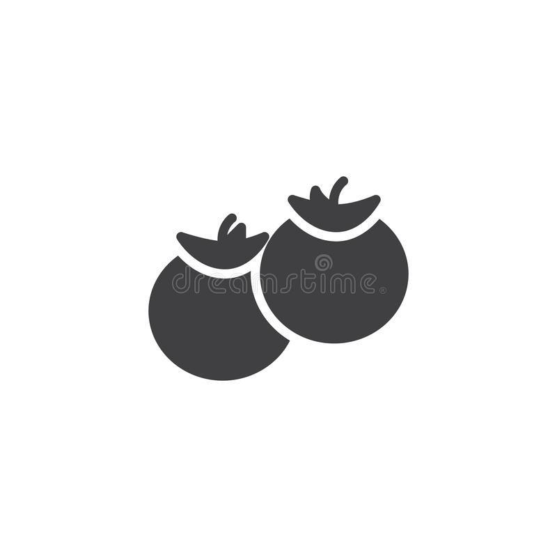Tomat gr vektor illustrationer