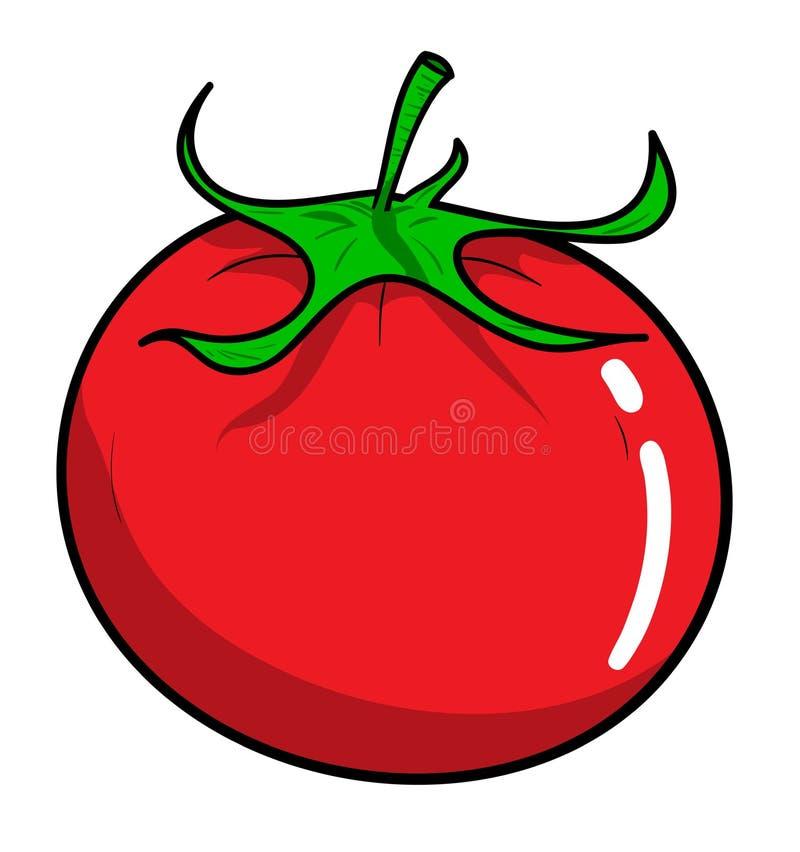 Tomate lizenzfreie abbildung