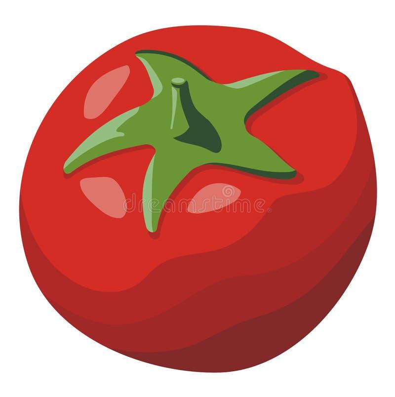 Download Tomate illustration de vecteur. Illustration du rouge - 8673244