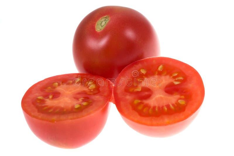 Tomate auf getrennt stockfotos
