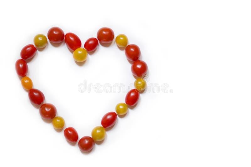 Tomate bedeutet Liebe? lizenzfreies stockbild