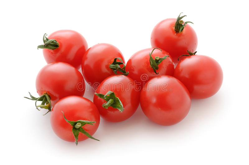 Tomate-cerise photographie stock