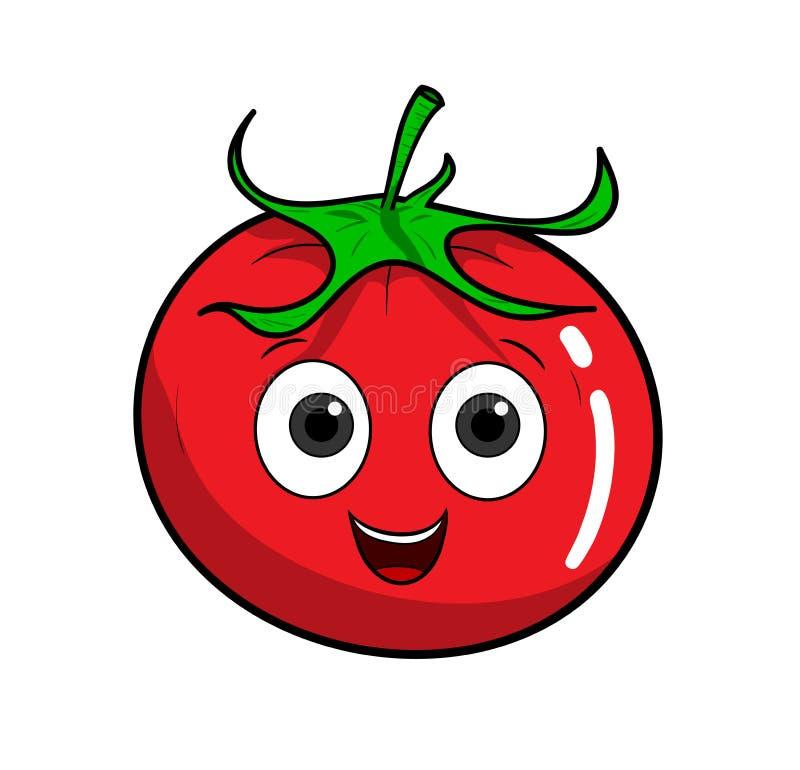 Tomate de bande dessin e illustration de vecteur illustration du illustration 58834165 - Tomate dessin ...