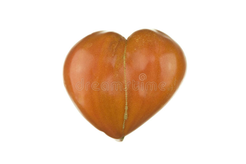 tomate de Coeur-forme images stock