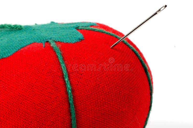 Tomate de couture photo libre de droits