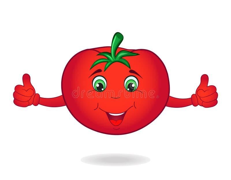 Tomate de dessin animé