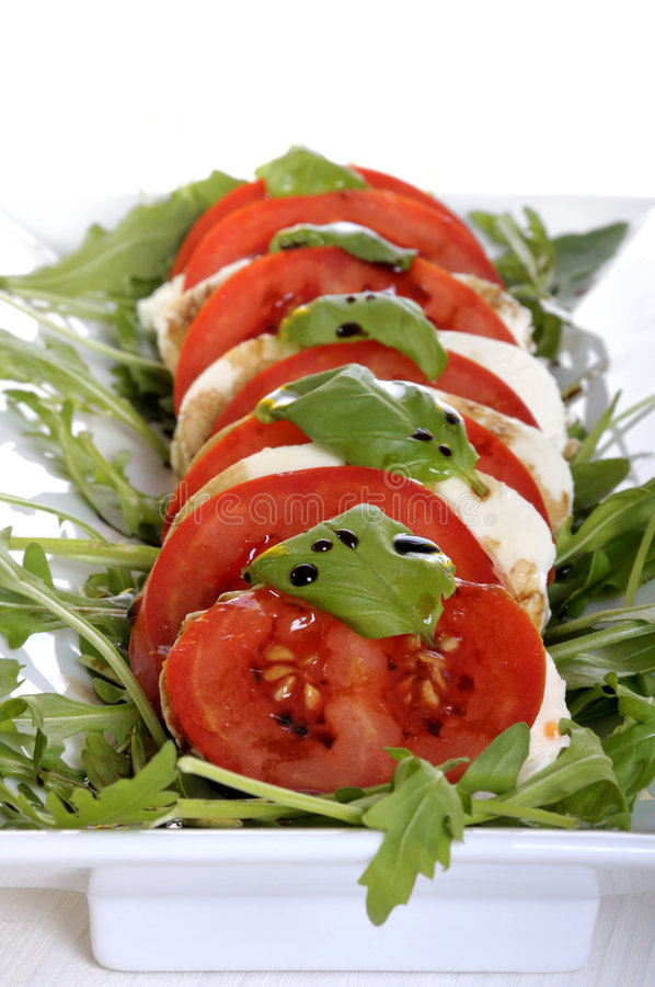 tomate de fromage d'antipasto image stock