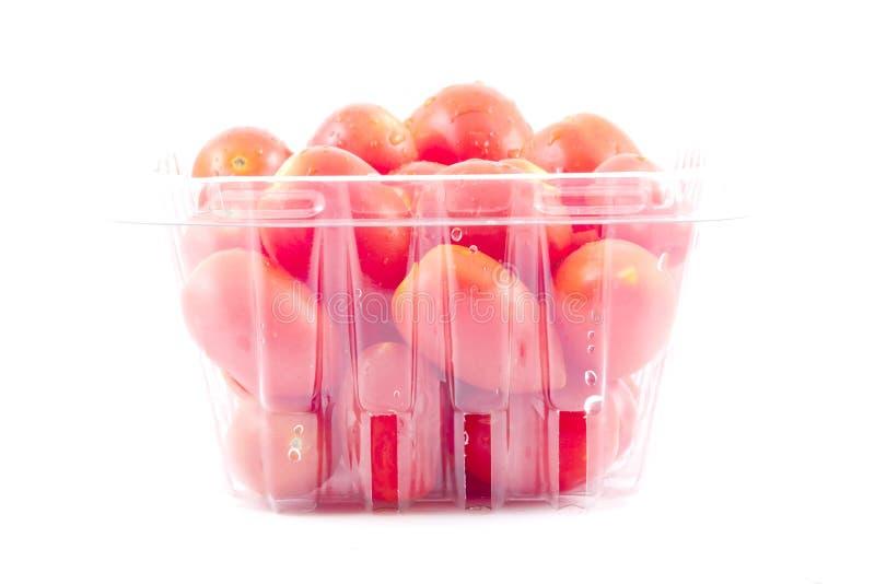 Tomate de raisin d'isolement photos libres de droits