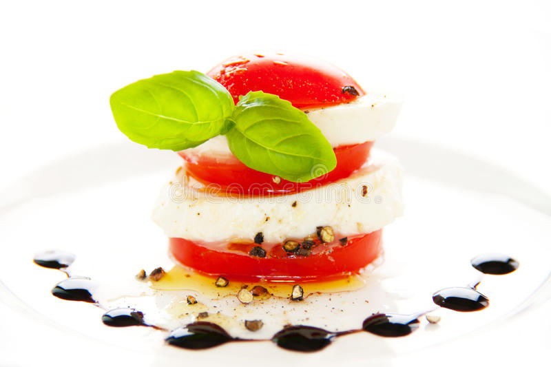 Tomate e mozzarella foto de stock royalty free