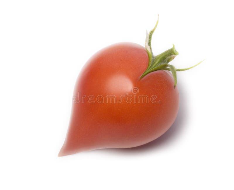 Tomate en forme de coeur photo stock