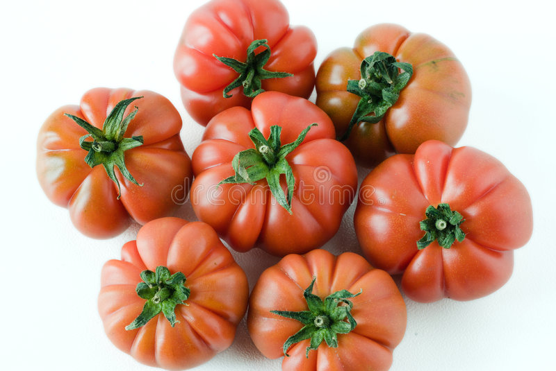 Tomate italienne mûre image stock
