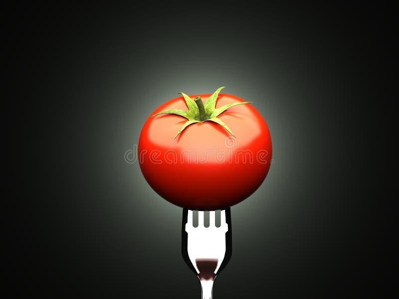 Tomate mûre photographie stock libre de droits