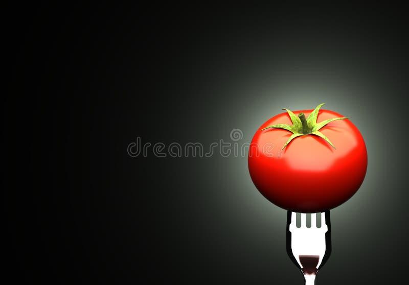 Tomate mûre illustration libre de droits