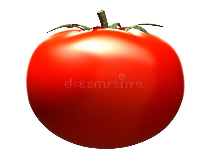 Tomate rouge illustration stock