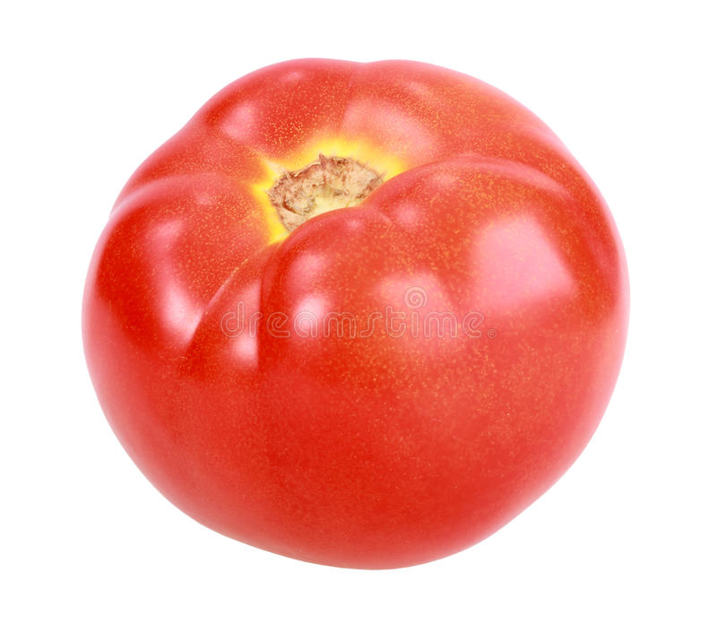 Tomate rouge simple images stock