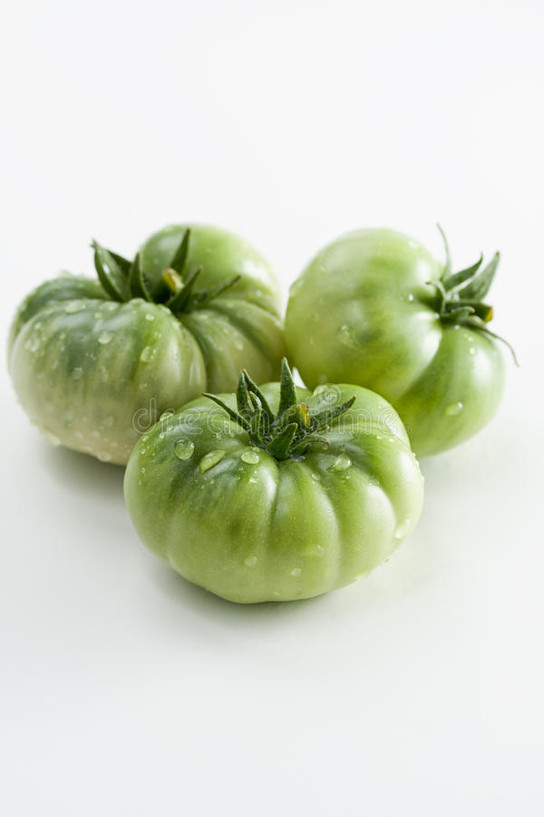 Tomate verde foto de stock royalty free