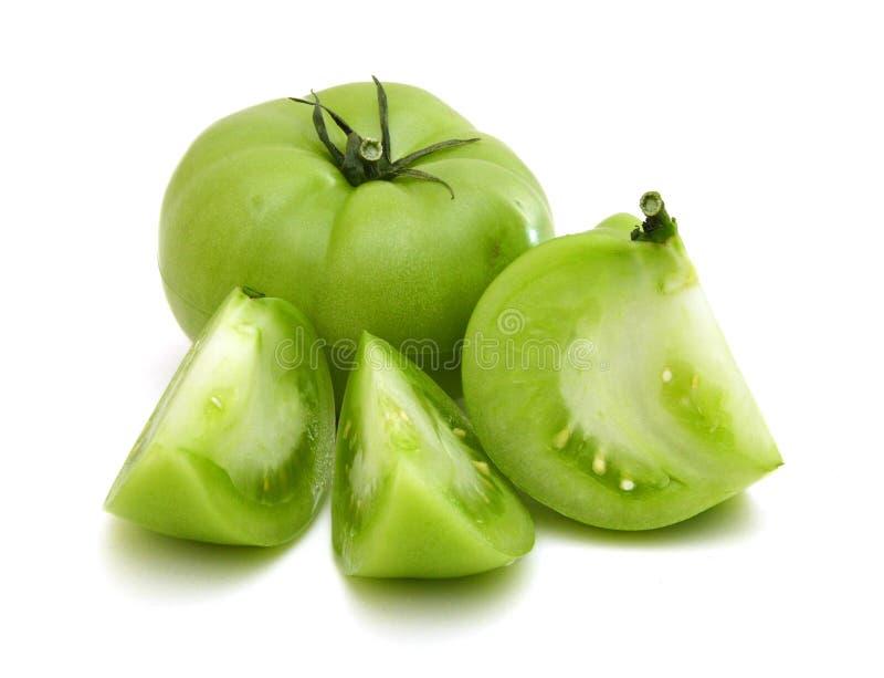Tomate verde fotos de archivo