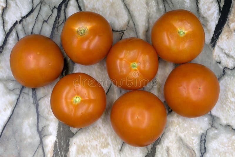 Tomaten, gekocht mit Kräutern für die Bewahrung auf der alten hölzernen Tabelle Biologisches Lebensmittel lizenzfreie stockfotografie