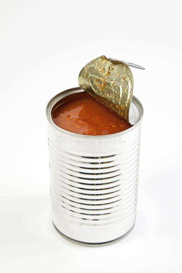 Tomaten kan öppna arkivbild