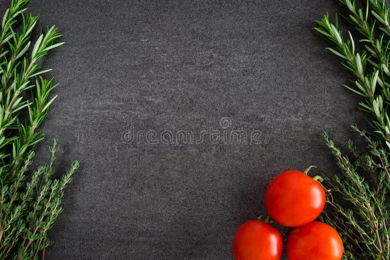 Tomatenkruiden stock fotografie