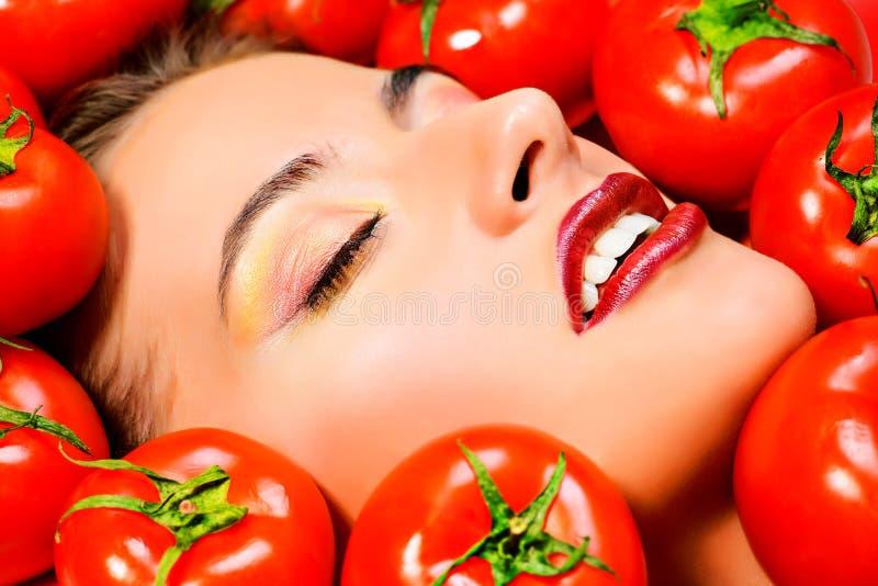 Tomatenparadies lizenzfreies stockbild