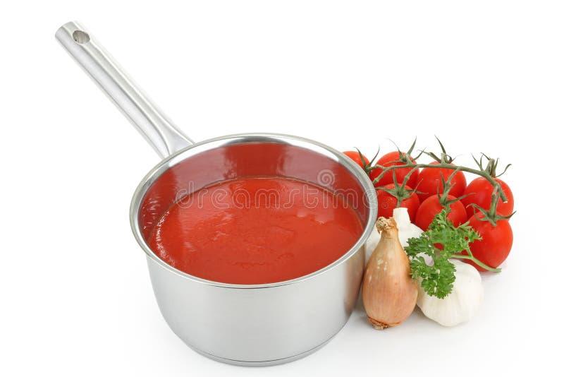 Tomatensauce stockfoto