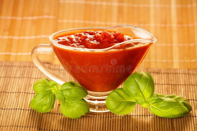 Tomatensaus stock foto