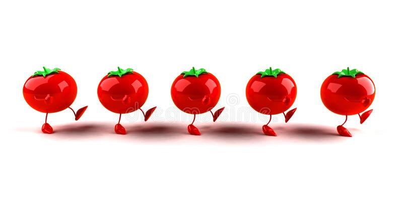 Tomates illustration stock