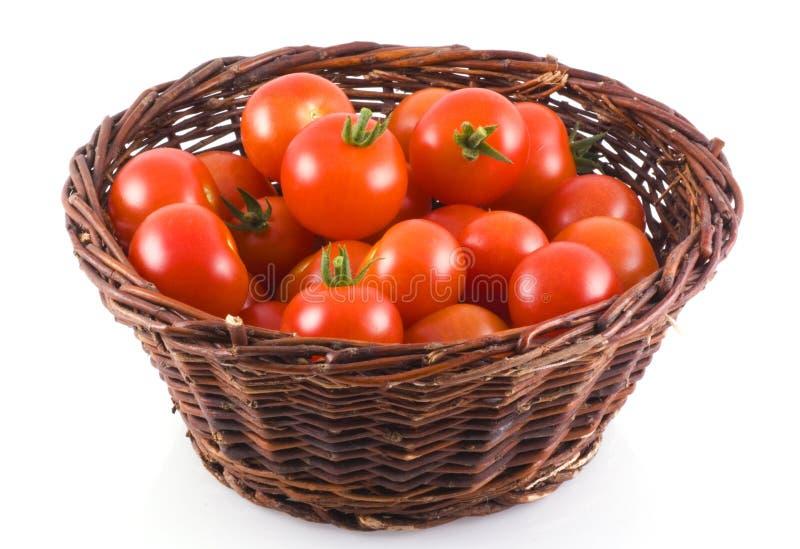 Tomates-cerises. photo stock